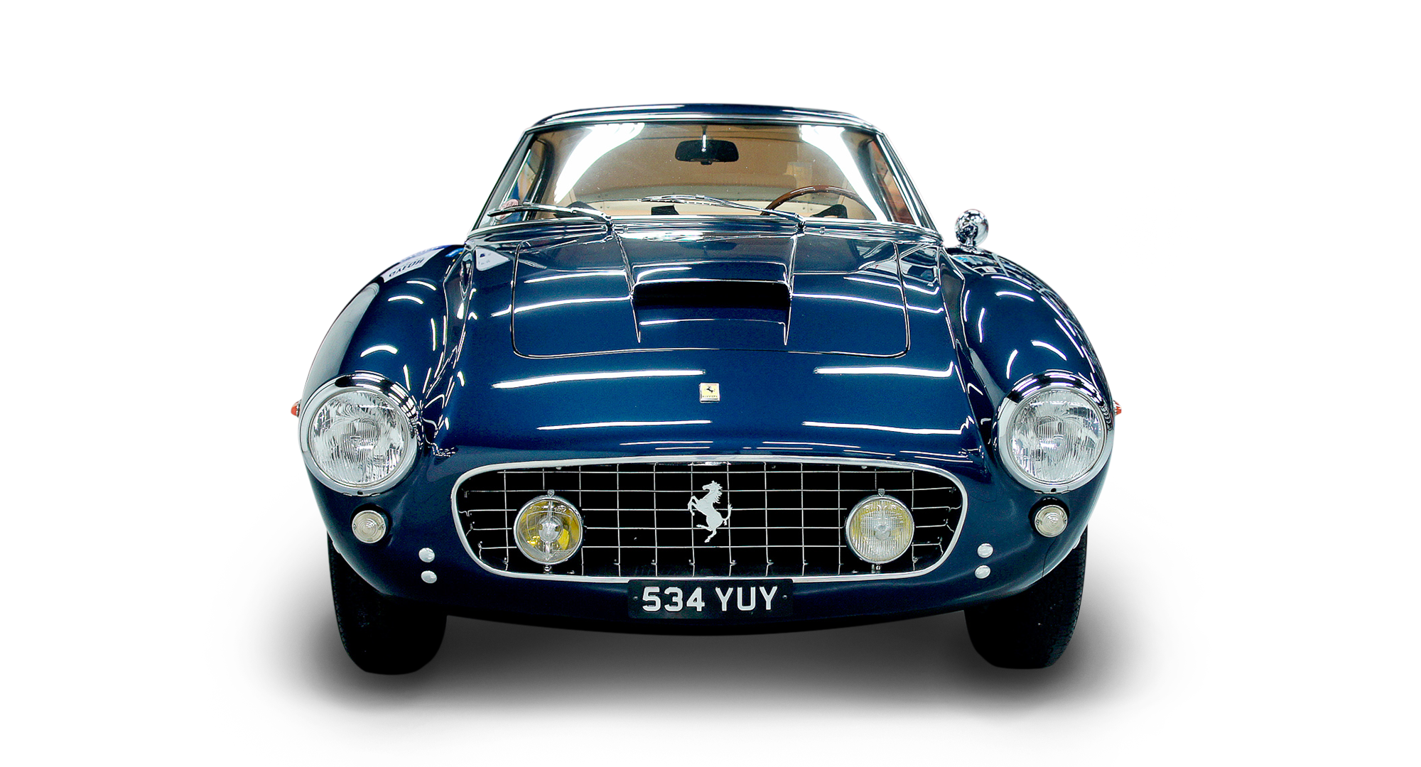 WAX-IT Detailing Ferrari Classic Front