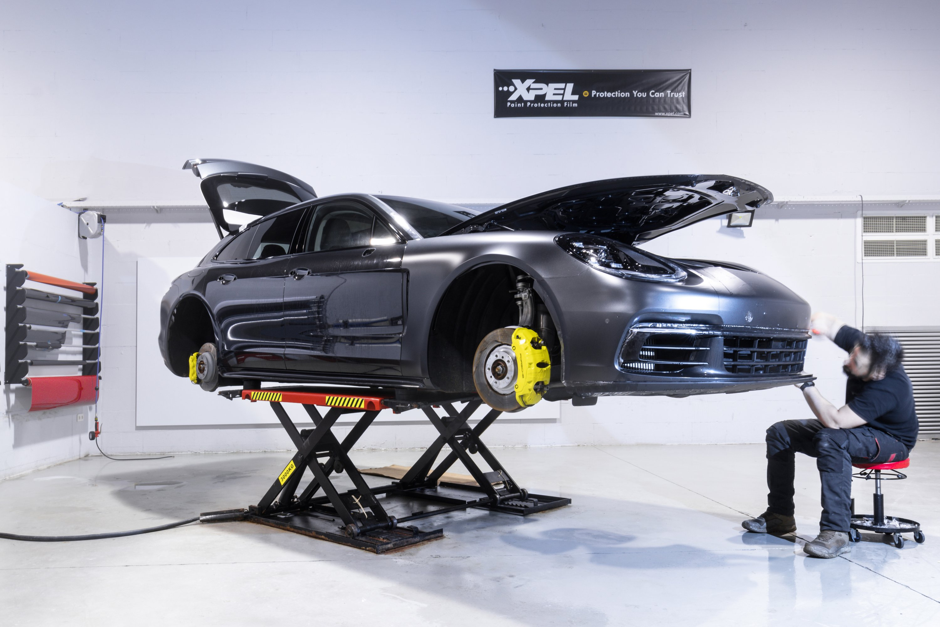 WAX-IT Detailing PPF Studio Porsche Panamera